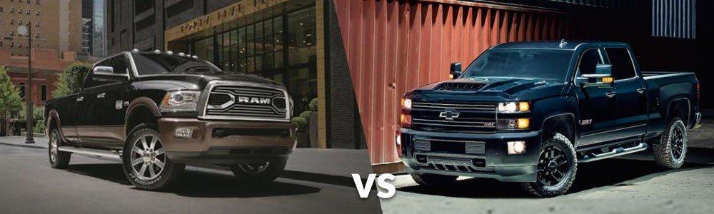 RAM 2500 vs. Chevy Silverado 2500