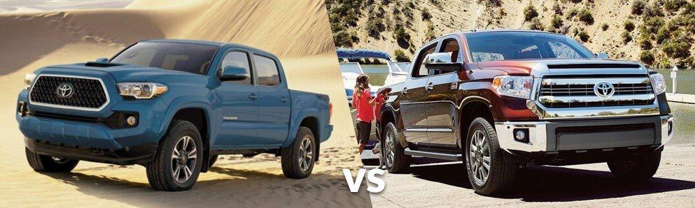 Toyota Tacoma vs. Toyota Tundra