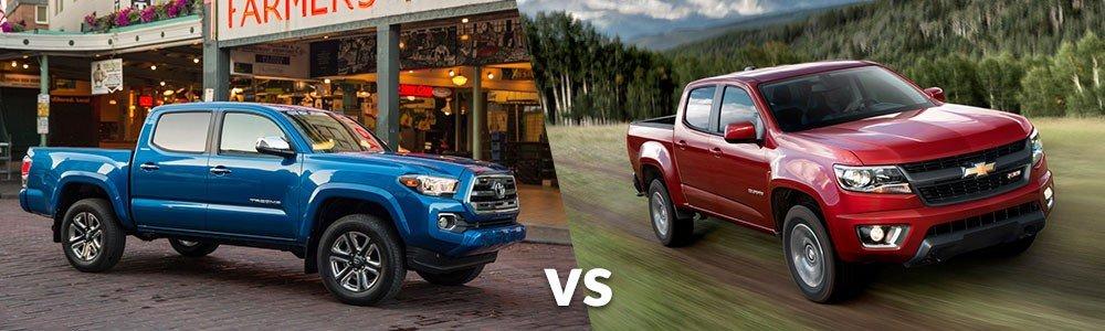 Toyota Tacoma vs. Chevy Colorado