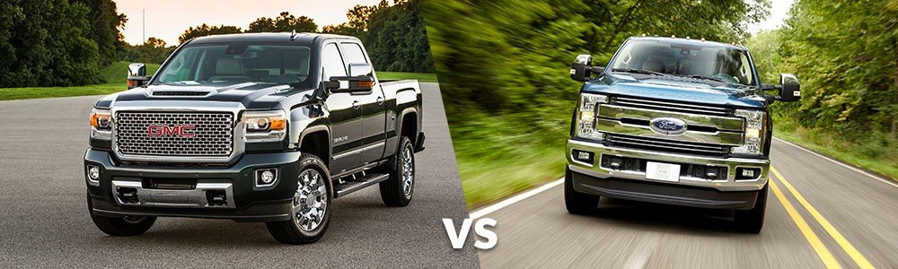 GMC Sierra 2500HD vs. Ford F-250 Super Duty