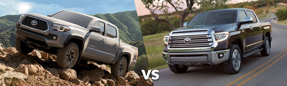Toyota Tacoma vs. Toyota Tundra: What Fits You Best?