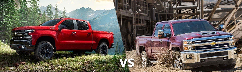 Chevy 1500 vs. Chevy 2500