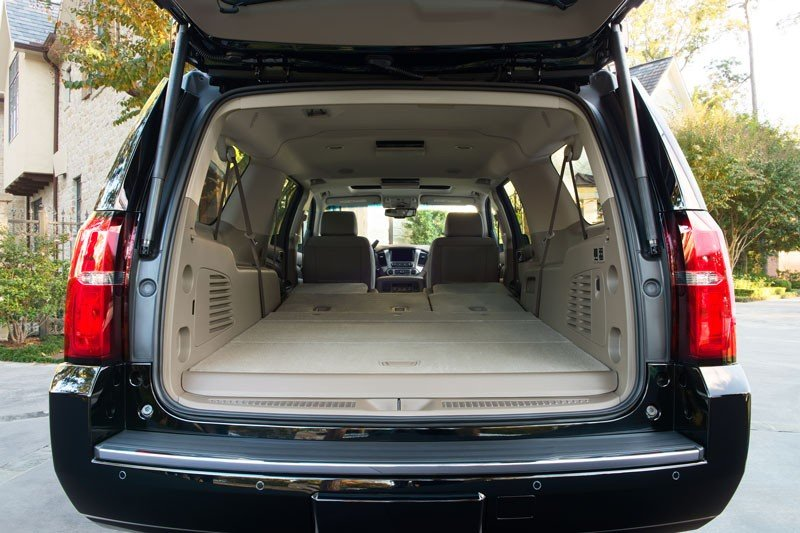 Chevy Suburban Interior Back