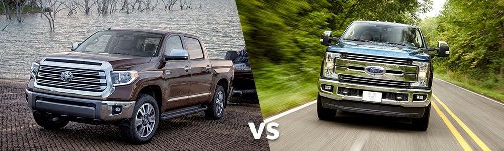 Toyota Tundra vs. Ford F-150