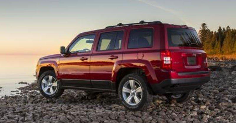 Jeep Patriot Back