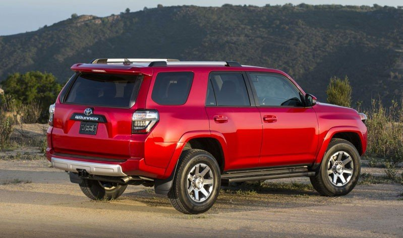 Toyota 4Runner back