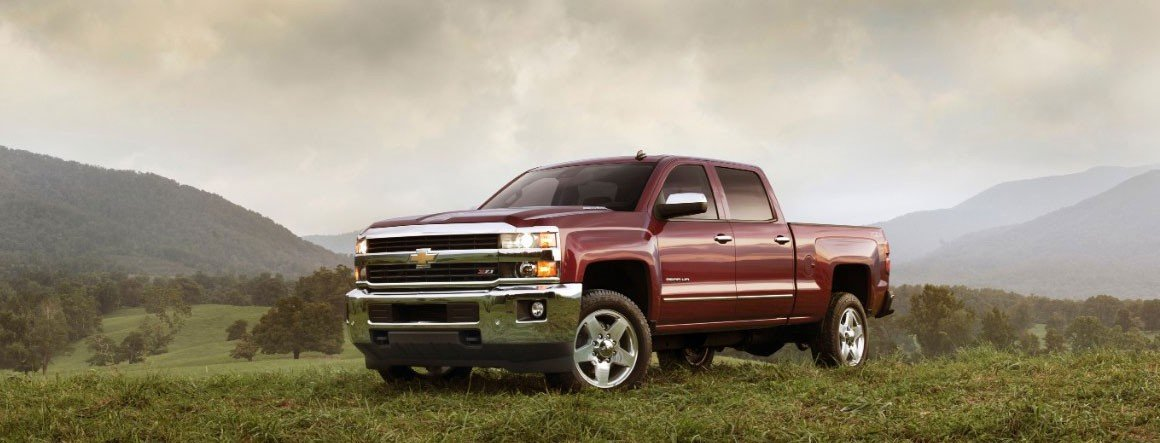 Chevy Silverado 2500HD Trims and Packages