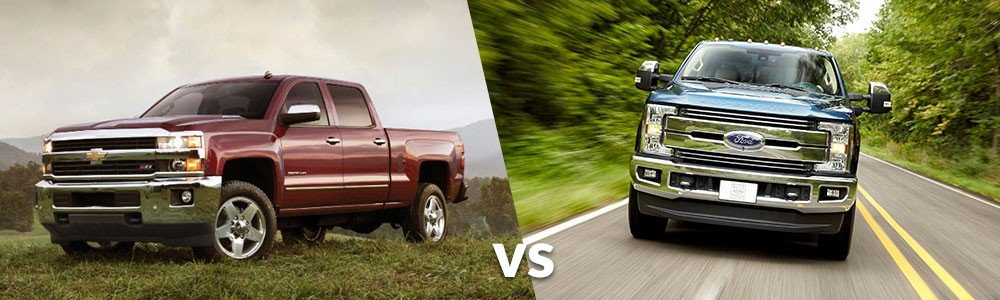 Chevy Silverado 2500HD vs. Ford F-250 Super Duty