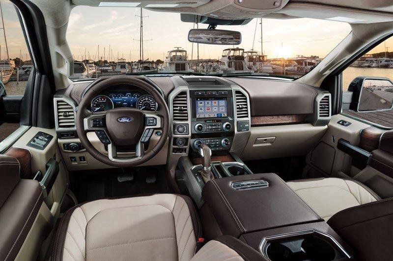 Ford F-150 Interior