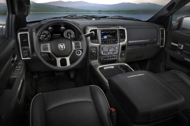Ram 2500 interior