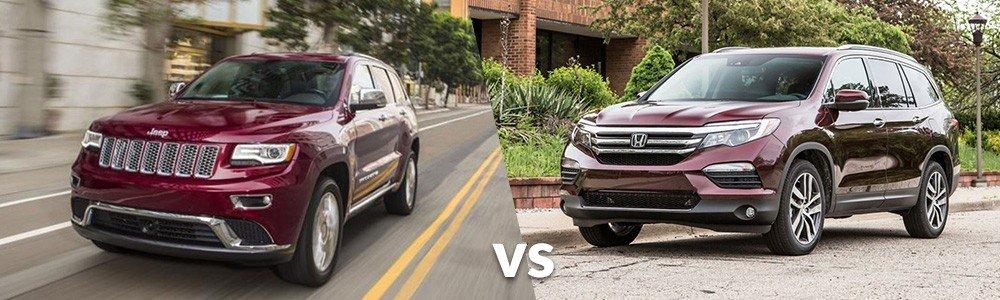 Jeep Grand Cherokee vs. Honda Pilot