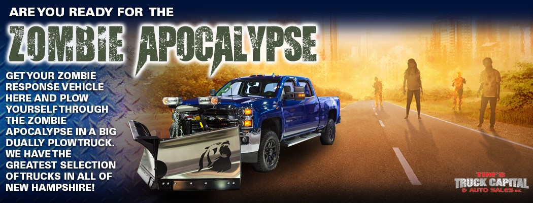 Get A Truck Fit For The Zombie Apocalypse At Tim S Truck Capital