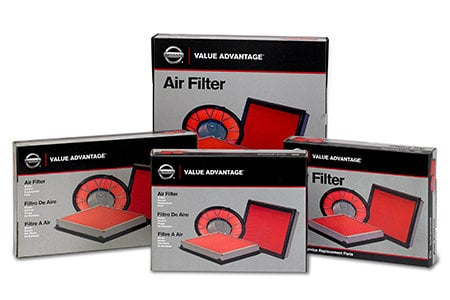 Coupon for 10% Off Value Advantage Air Filters and Nissan Micro Filters
