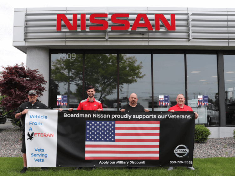 Boardman Nissan proudly supports our Veterans.