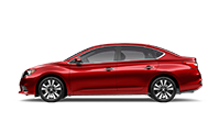 New red nissan sentra