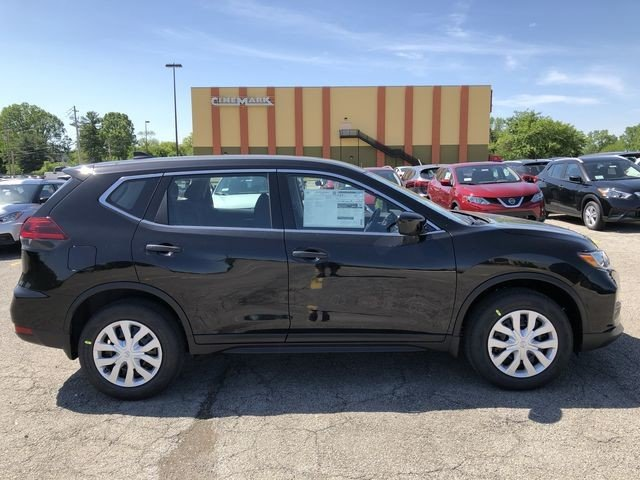 Lease this 2019, Black, Nissan, Rogue, S