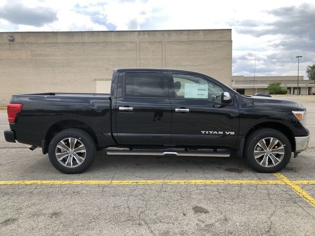 Lease this 2019, Black, Nissan, Titan, SL