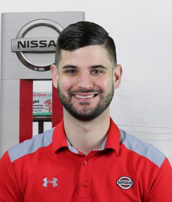 Sales Manager Sean Kraft in Sales at Boardman Nissan