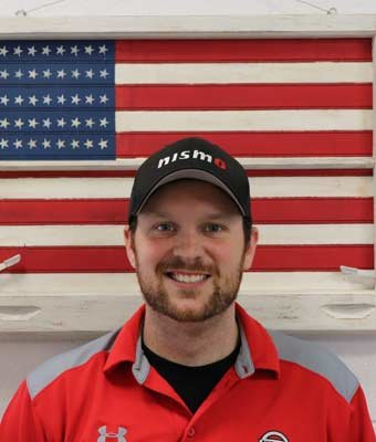 Digital Marketing Manager Tim Harkleroad in Management at Boardman Nissan