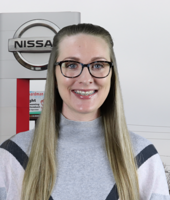 Office Manager Shauna Burton in Administration at Boardman Nissan