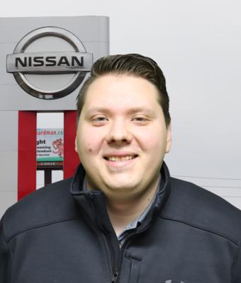 Finance Director Andrew Grubbs in Management at Boardman Nissan