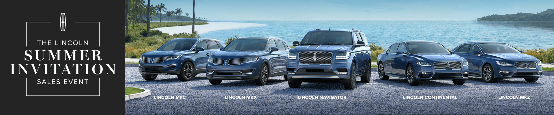 The Lincoln Summer Invitation Sales Event