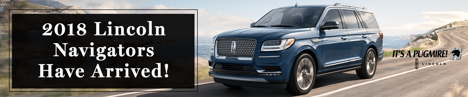 Lease your 2018 Lincoln Navigator today