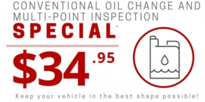 Conventional Oil Change And Multi Point Inspection
