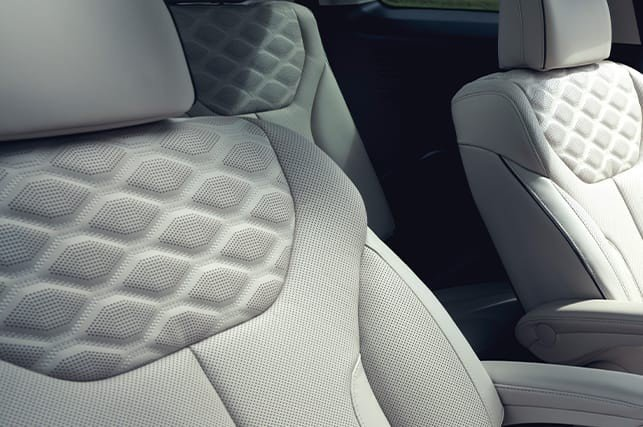 Quilted Nappa Leather Palisade Seating