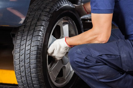 Lifetime Tire Rotation with 4 Tire Purchase