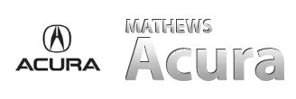 Mathews Acura Dealership Logo