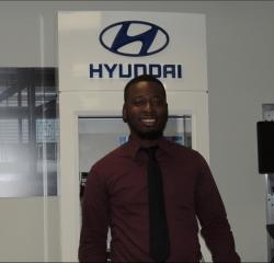 Sales Professional Daquane  Morgan in Sales at South Shore Hyundai