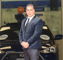 General Manager Dino Karvazoni in Management at South Shore Hyundai