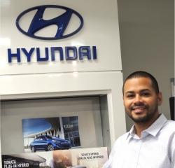 Sales Professional Jonathan Brailey in Sales at South Shore Hyundai