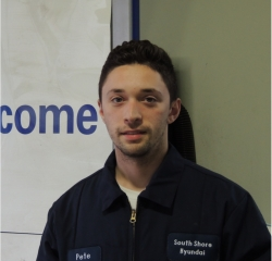 Peter . in Service at South Shore Hyundai