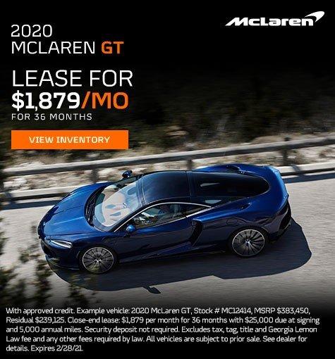 McClaren GT