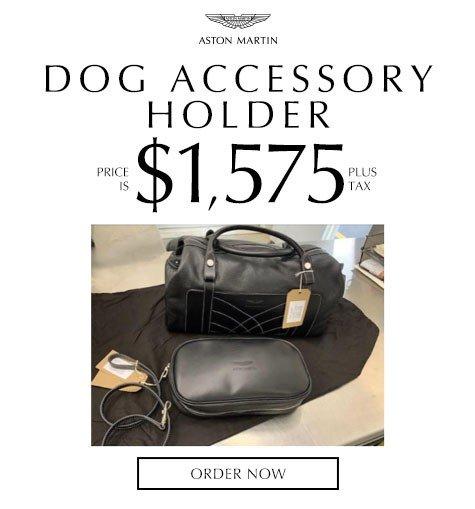 Aston Martin Dog Accessory Holder