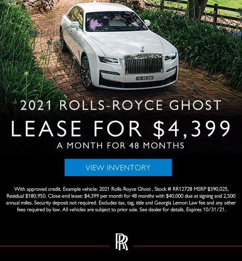 2021 Rolls-Royce Ghost Models in Atlanta GA