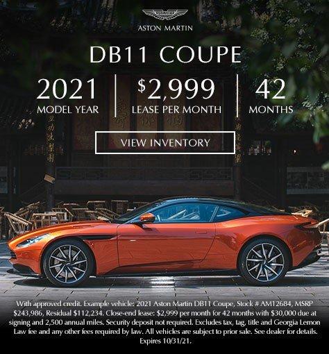 2021 Aston Martin DB11 in Atlanta GA