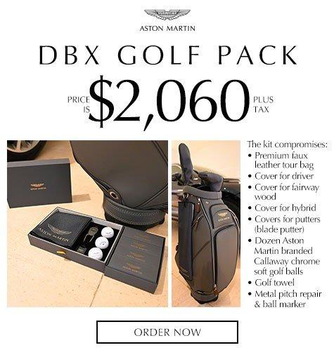 Aston Martin DBX Golf Pack