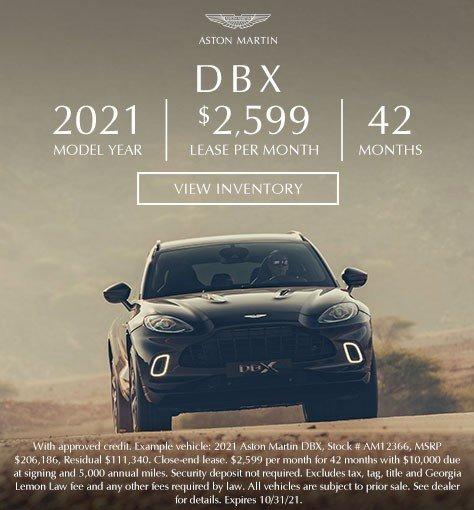 2021 Aston Martin DBX in Atlanta GA