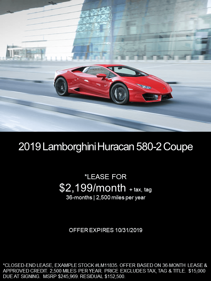Lamborghini Huracan Lease >> Motorcars Of Atlanta Current Lease Specials
