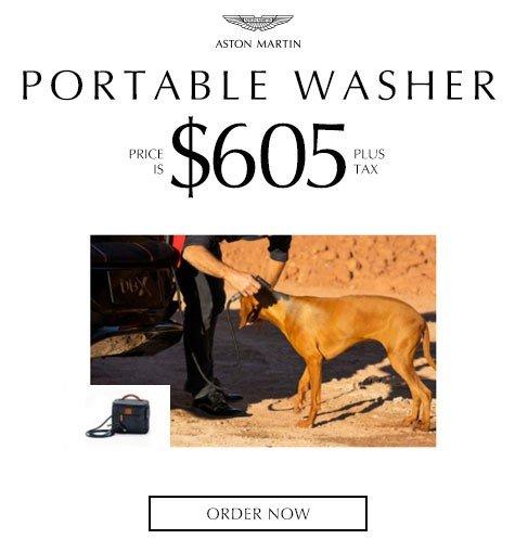 Aston Martin Portable Washer