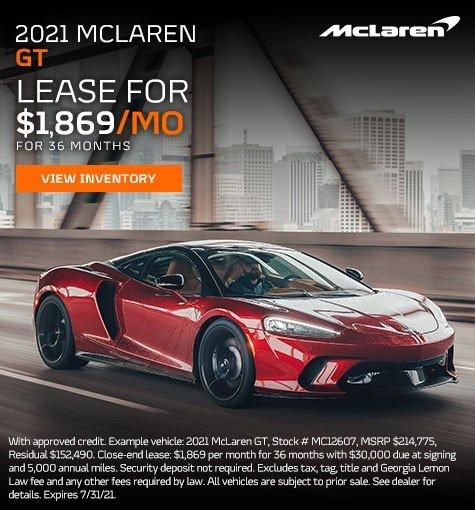 2021 McLaren GT Models