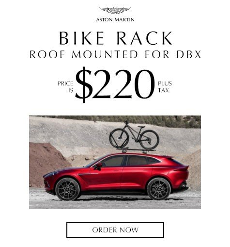 Aston Martin Bike Rack – Roof Mounted for DBX