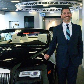 Sales Consultant/Aston Martin and Rolls-Royce Brand Ambassador Matt Starrett in Our Team at MotorCars of Atlanta