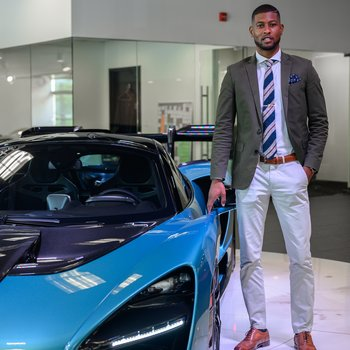 Sales Consultant/McLaren Brand Ambassador Christopher Fiffie in Our Team at MotorCars of Atlanta