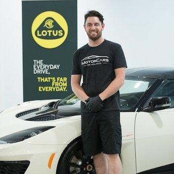 Lead Lotus Technician Henry Kamps in Our Team at MotorCars of Atlanta