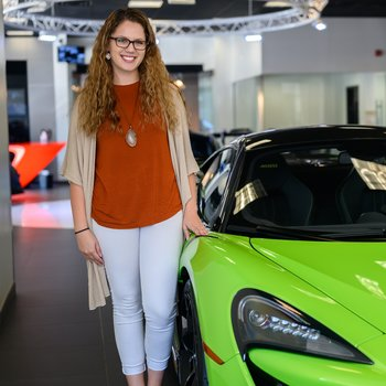 Assistant Service Advisor Marley Atwell in Our Team at MotorCars of Atlanta