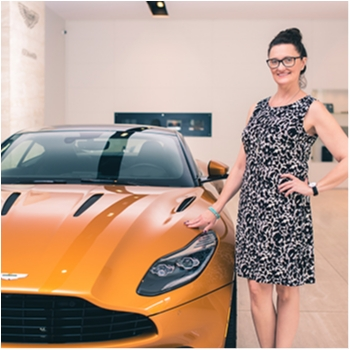 Receptionist Andrea Feher in Our Team at MotorCars of Atlanta